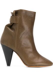 Isabel Marant Ankle Boot Lystal - Verde