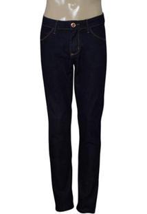 Calca Masc Lado Avesso 17800 Jeans Escuro