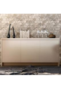 Buffet Madrid- Off White- 78X160X46Cm- Casa Dcasa D