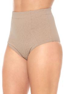 Calcinha Morena Rosa Hot Pant Redutora Bege