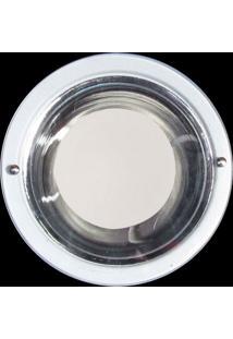Luminária De Embutir Copo Alumínio Metalizado 1 Lâmpada Attena