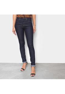 Calça Jeans Skinny Calvin Klein Cintura Alta Feminina - Feminino