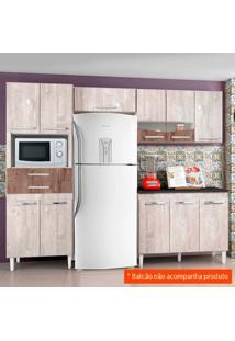 Cozinha Compacta Livia 8 Pt 2 Gv Champanhe E Chocolate