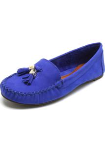 c6e4c30641 ... Mocassim Couro Santa Lolla Tassel Azul