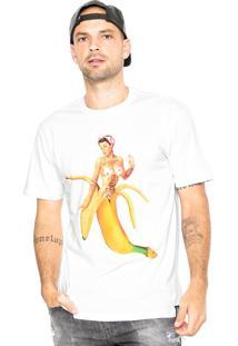 Camiseta Blunt Pin Up Banaan Branca