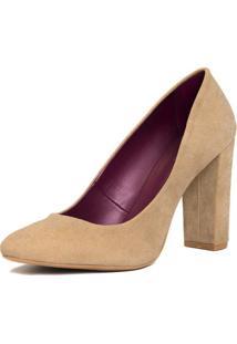 Sapato Tradicional Liso - Bege Claroamaro