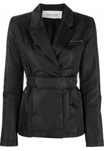 1017 Alyx 9Sm Belted-Waist Wrap Jacket - Preto