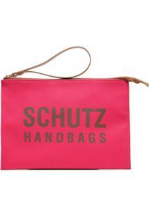 Bolsa Clutch Feminina Lona Schutz S500100122