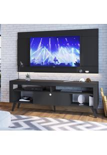 Rack Para Tv Até 70 Pol Art In Móveis Ra1800 Quebec 1 Porta Preto