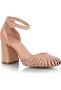 25a1cf6170 Sapato Alfaiataria Bico Redondo feminino