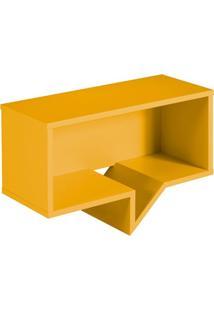 Prateleira Cartoon Retangular Amarelo
