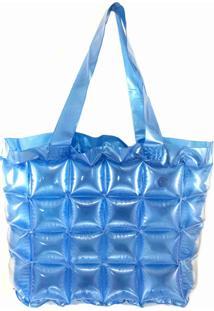 Bolsa Aphrodite Inflável Azul