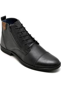 Bota Dress Boot Masculina Eco Canyon Broklin Preto