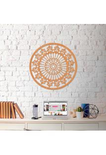 Escultura De Parede A Laser Mandala Clean