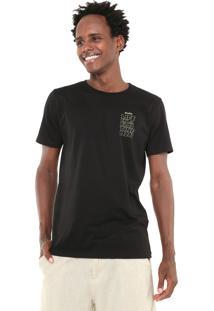 Camiseta Redley Floating Mood Preta