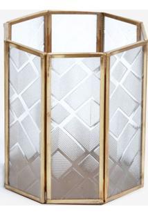 Luminária Le Lis Blanc Casa Laos Dourado - Luminaria Laos-Ouro-Un