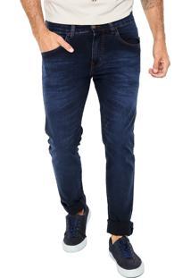 Calça Jeans Colcci Slim John Azul-Marinho