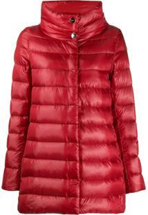 Herno Down Parka Jacket - Vermelho