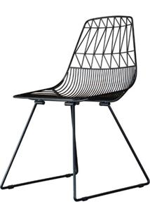 Cadeira Damasco Preto Fosco 79 Cm (Alt) - 47420 - Sun House