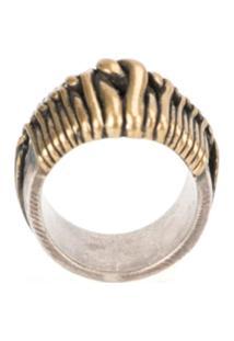 Tobias Wistisen 'Wide Twist' Ring - Bronze