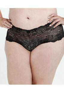 Calcinha Feminina Caleçon Plus Size Marisa