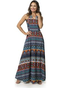 766b69601 Vestido Longo Textura feminino | Gostei e agora?