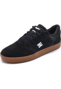 Tênis Couro Dc Shoes Crisis La Preto
