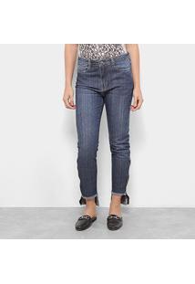 Calça Jeans Carmim Windsor Skinny Feminina - Feminino-Azul Escuro