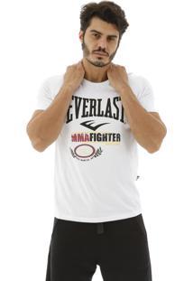 Camiseta Everlast Mma Fighter Branco
