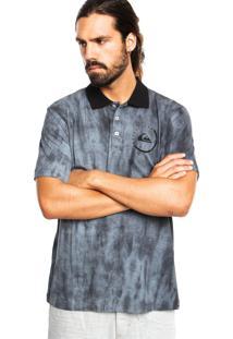 Camisa Polo Quiksilver Everyday Active Preta