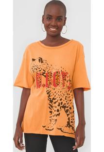 Camiseta Oh, Boy! Onã§A Laranja - Laranja - Feminino - Algodã£O - Dafiti