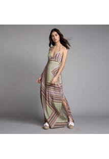 Vestido Longo Estampa Aussie - Lez A Lez
