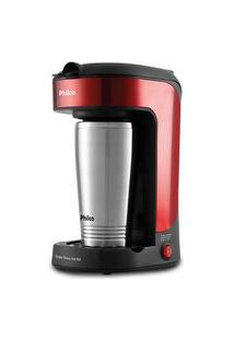 Cafeteira Philco Single Thermo Inox Red Pcf21 127V