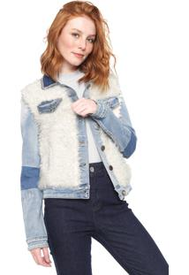 Jaqueta Jeans Desigual Valerie Azul