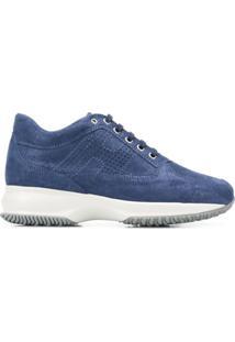 Hogan Interactive Hi-Top Sneakers - Azul