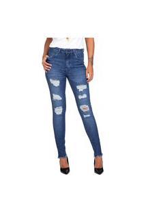 Calça Jeans Guess Skinny Rasgos