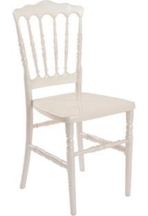 Cadeira De Jantar Dior Resina Perola