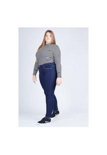 Calça Jeans Cigarrete Gang Plus Size Feminina