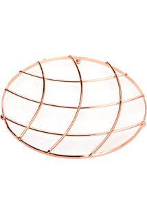 Descanso Para Panela- Rosê Gold- 1Xø20Cm- Lyorlyor