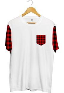Camiseta Bsc Xadrez Pocket Full Print - Masculino