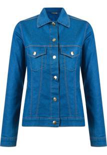 Amapô Jaqueta Jeans - Azul