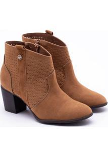9d01f25735 ... Ankle Boot Via Marte Camurça Caramelo 33