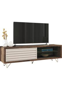 "Rack Para Tvs Até 70"" Venezza Deck / Off White"