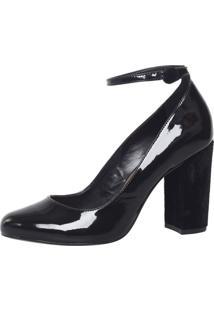 Sapato Andatti Verniz Preto