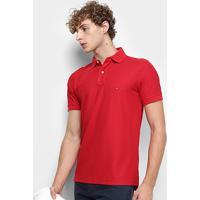3b001199bc Camisa Polo Tommy Hilfiger Detalhe Bordado Regular Masculina - Masculino