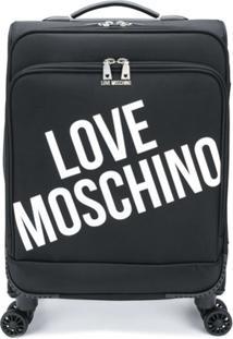 Love Moschino Mala Com Estampa De Logo - Preto