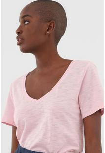 Camiseta Gap Flamê Rosa - Kanui