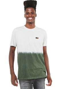 Camiseta Mcd Degradê Core Off-White/Verde