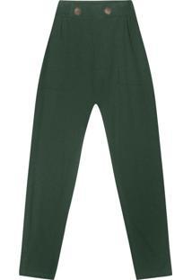 Calça Feminina Verde
