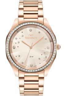Relógio Technos Feminino Elegance Swarovski 2036Mmh/1T